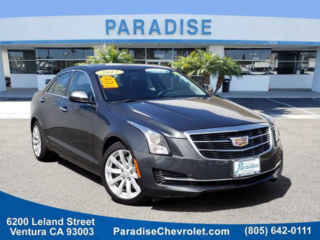 2017 Cadillac ATS Sedan RWD 4dr Sdn 2.0L RWD Turbocharged Gas I4 2.0L/122 [10]
