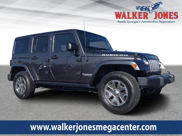 Used 2017 Jeep Wrangler Unlimited in Waycross, GA