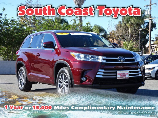 2017 TOYOTA HIGHLANDER XLE XLE V6 FWD Regular Unleaded V-6 3.5 L/211 [28]