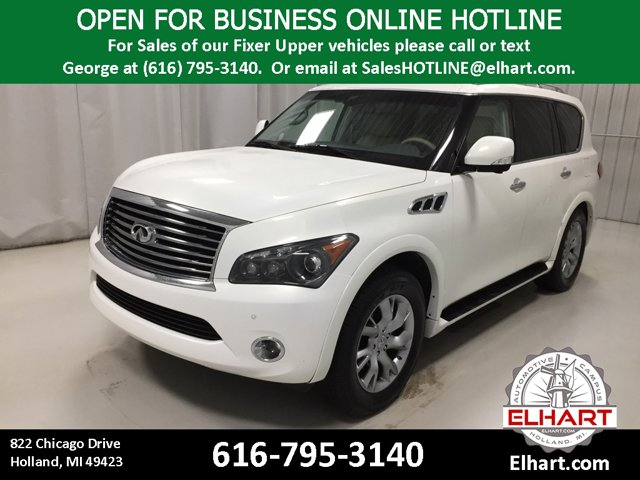 Used 2012 INFINITI QX56 in Holland, MI