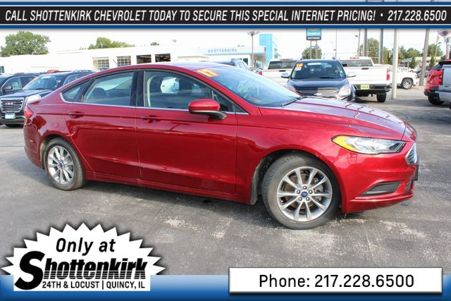 Used 2017 Ford Fusion in Quincy, IL
