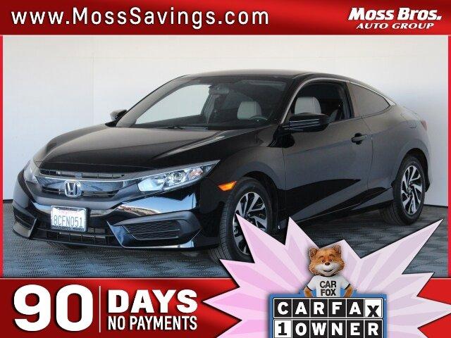 2017 Honda Civic Coupe LX LX CVT Regular Unleaded I-4 2.0 L/122 [16]
