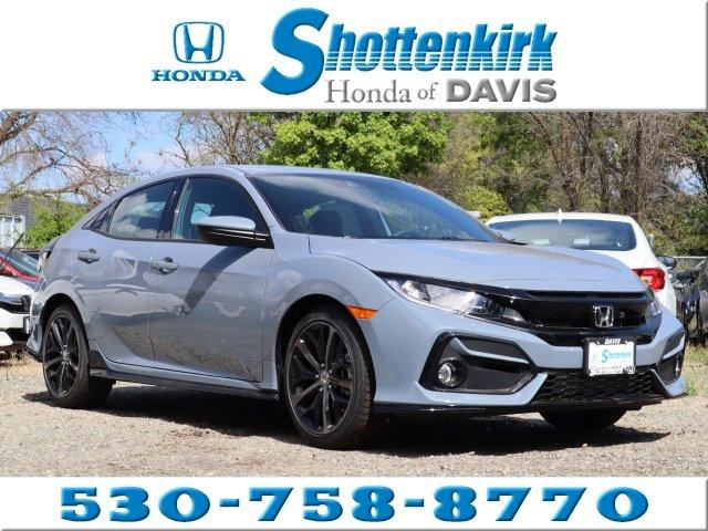 New 2020 Honda Civic Hatchback in Davis, CA