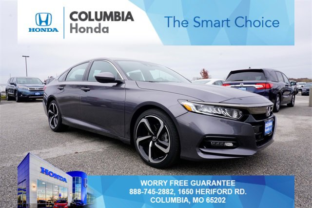 New 2020 Honda Accord Sedan in Columbia, MO