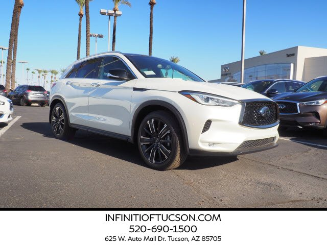 2021 INFINITI QX50 LUXE LUXE AWD Intercooled Turbo Premium Unleaded I-4 2.0 L/121 [2]