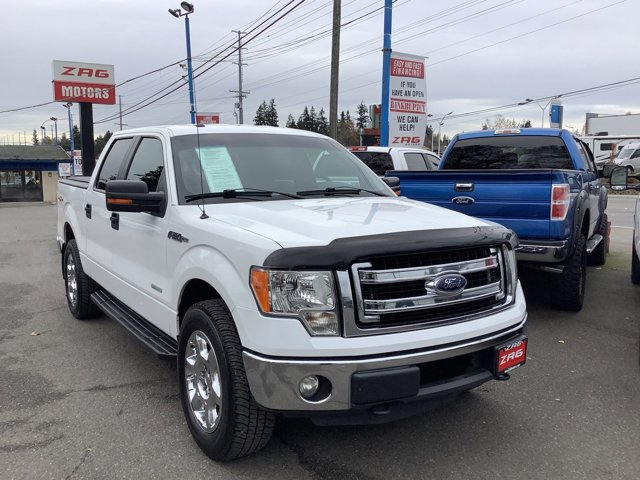 2013 Ford F-150 4WD SuperCrew 145 XLT