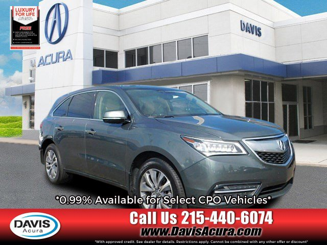Used 2015 Acura MDX in Langhorne, PA