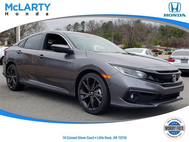 New 2020 Honda Civic Sedan in Little Rock, AR