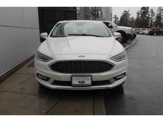 New 2017 Ford Fusion Titanium AWD
