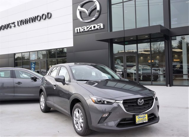 New 2021 Mazda CX-3 in Edmonds Lynnwood Seattle Kirkland Everett, WA