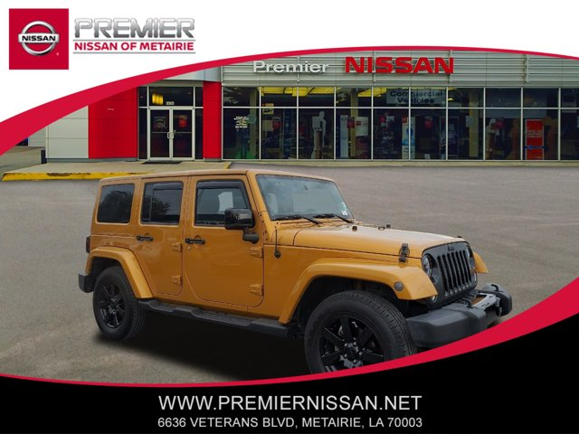 Used 2014 Jeep Wrangler Unlimited in Metairie, LA