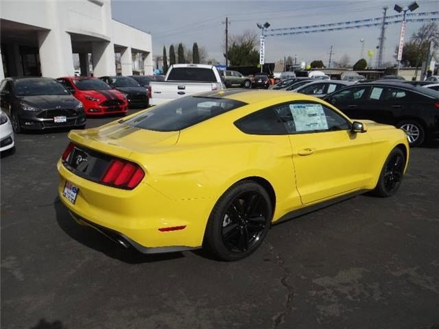 New 2016 Ford Mustang 2016 FORD MUSTANG ECOBOOST PREMIUM 2DR CPE