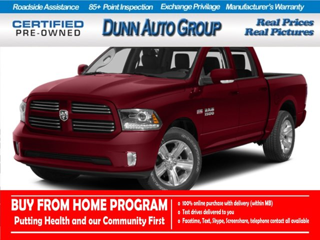 2014 Ram 1500 | SLT Crew Cab 4x4 | POWER SEAT | COLOR TOUCHSCREEN | 4WD Crew Cab 140.5″ SLT Regular Unleaded V-6 3.6 L/220 [0]