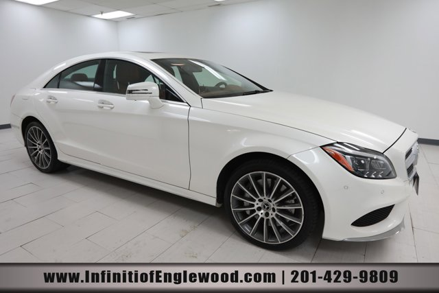 2017 Mercedes-Benz CLS CLS 550 CLS 550 4MATIC Coupe Twin Turbo Premium Unleaded V-8 4.7 L/285 [10]