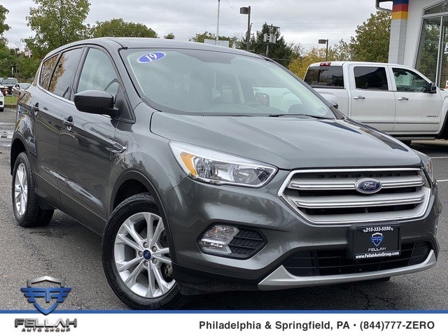 2019 Ford Escape SE Turbocharged Front Wheel Drive Power Steering ABS 4-Wheel Disc Brakes Brak