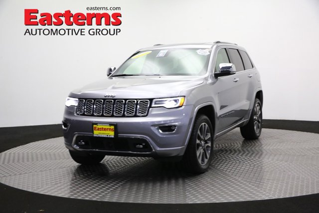 2017 Jeep Grand Cherokee Overland Sport Utility
