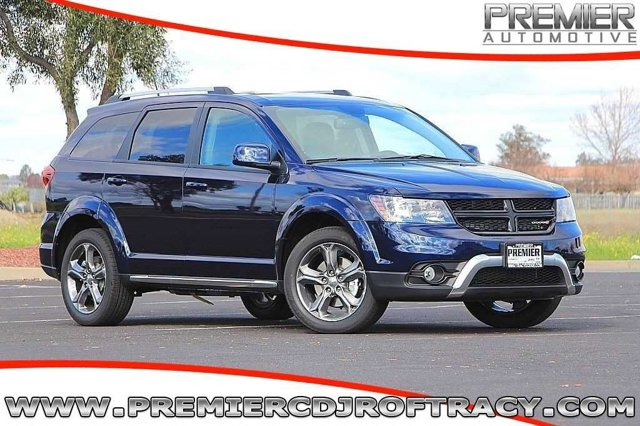 2017 Dodge Journey JCDR49 Crossroad Automatic Blue Pearl Black Front Wheel Drive Power Steerin