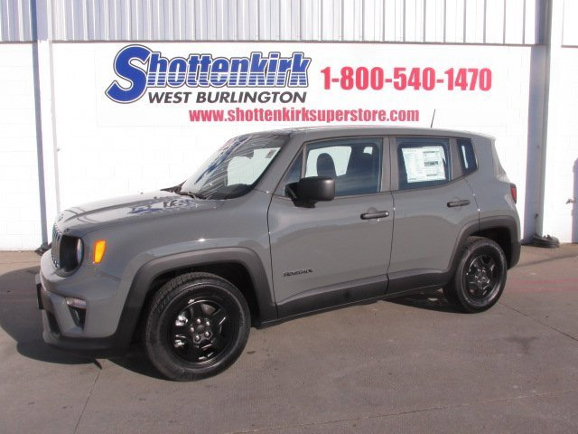 New 2020 Jeep Renegade in West Burlington, IA