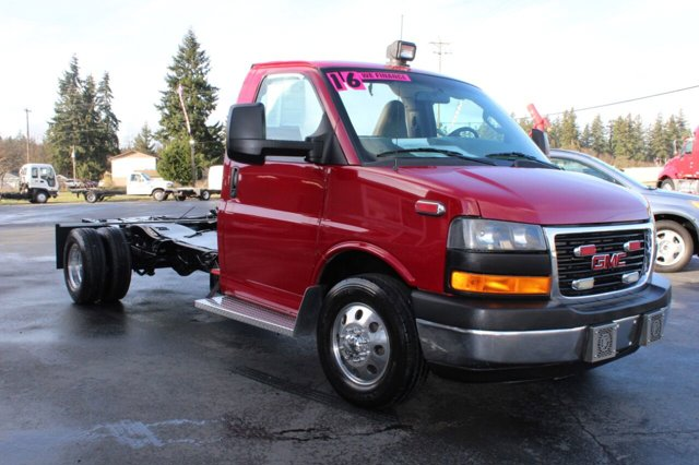 Used 2016 GMC Savana Commercial Cutaway 4500 Van 159 Diesel
