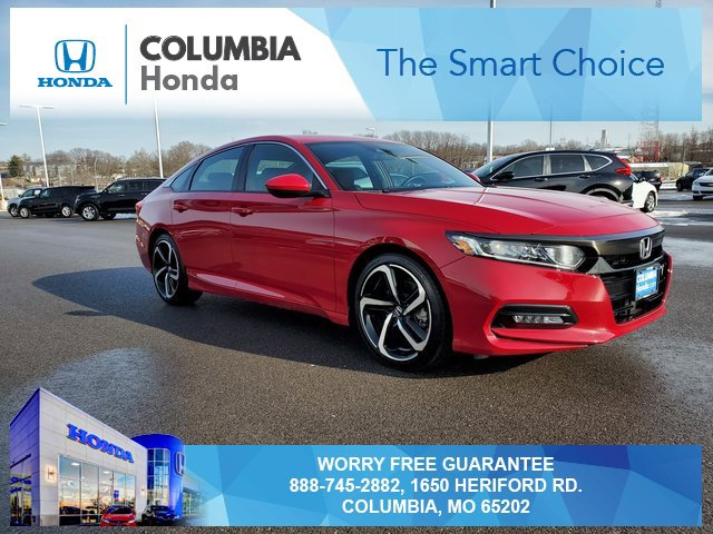 Used 2019 Honda Accord Sedan in Columbia, MO