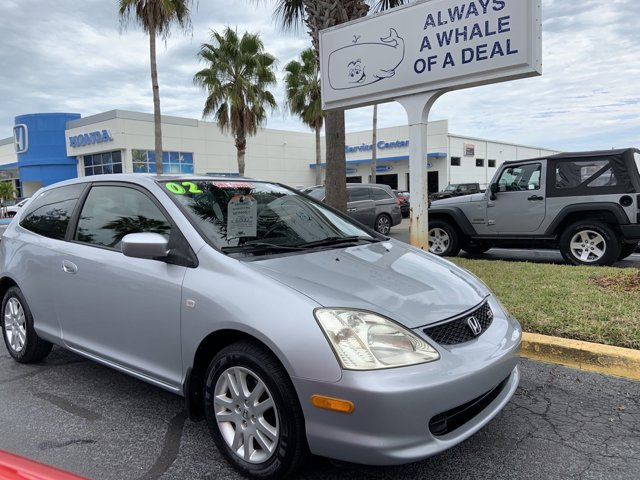 Used 2002 Honda Civic Coupe in Vero Beach, FL