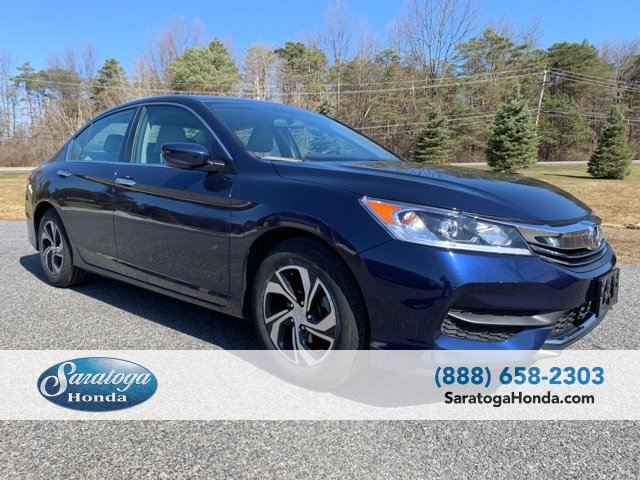 Used 2017 Honda Accord Sedan in Saratoga Springs, NY