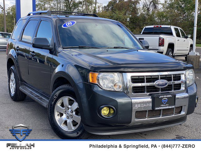 2009 Ford Escape Limited Four Wheel Drive Power Steering Front DiscRear Drum Brakes Aluminum Wh