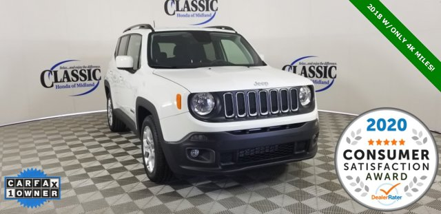 Used 2018 Jeep Renegade in Midland, TX