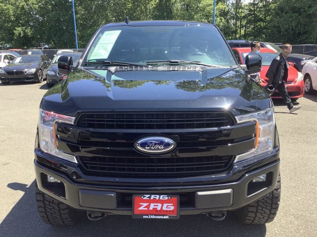 Used 2018 Ford F-150 LARIAT 4WD SuperCrew 5.5' Box