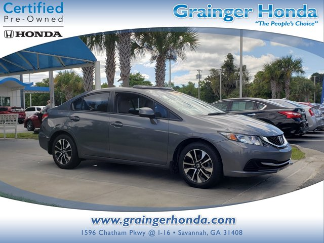 Used 2013 Honda Civic Sedan in Savannah, GA