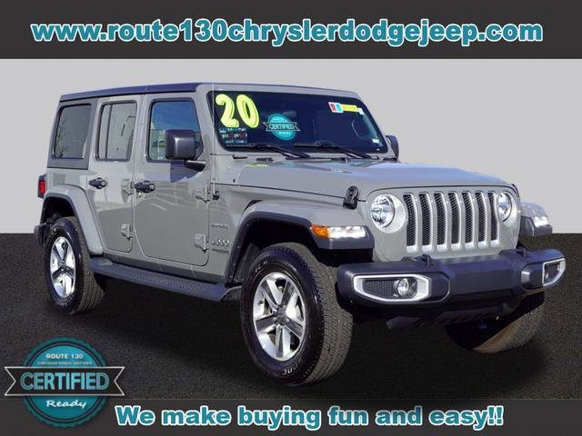 Used 2020 Jeep Wrangler Unlimited in Little Falls, NJ