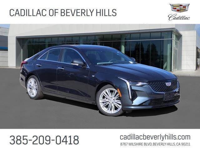 2021 Cadillac CT4 Premium Luxury 4dr Sdn Premium Luxury Turbocharged I4 2.0L/ [3]