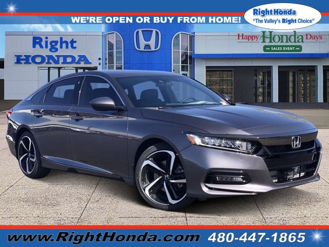 2020 Honda Accord Sport Sport 1.5T CVT Intercooled Turbo Regular Unleaded I-4 1.5 L/91 [0]