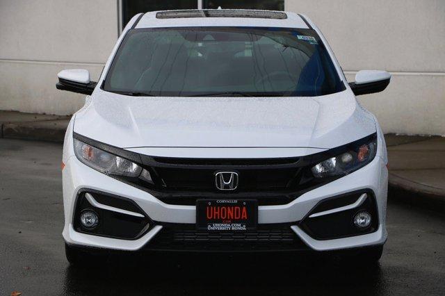 New 2020 Honda Civic Hatchback EX-L CVT