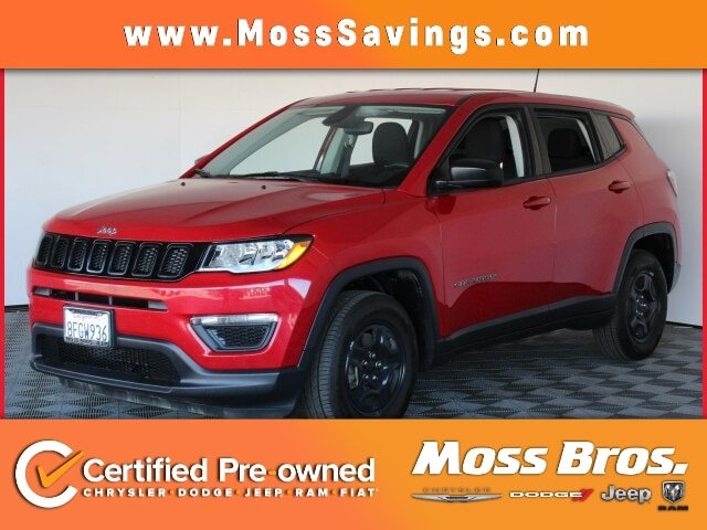 2018 Jeep Compass Sport Sport FWD Regular Unleaded I-4 2.4 L/144 [3]
