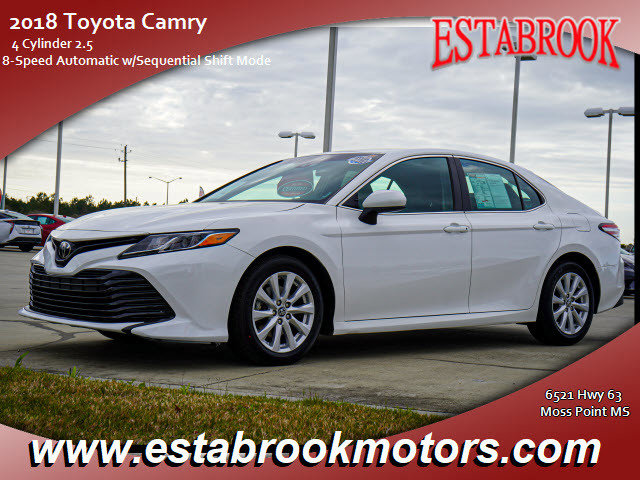 Used 2018 Toyota Camry in Moss Point, MS