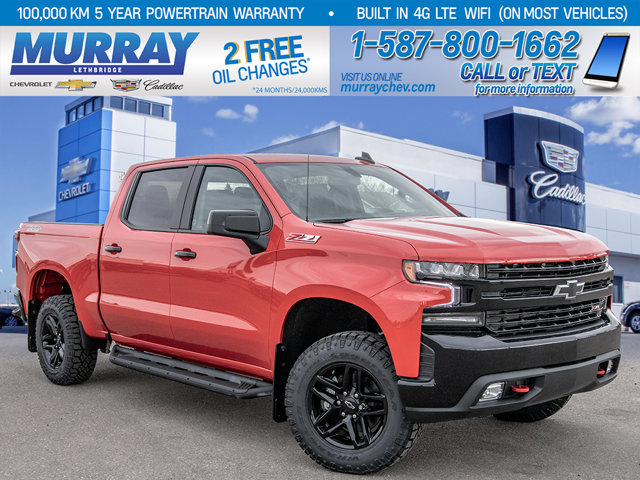 2021 Chevrolet Silverado 1500 LT Trail Boss | Off Road Appearance Package | Leather Wrapped Steering Wheel | 4WD Crew Cab 147″ LT Trail Boss Gas V8 5.3L/325 [8]