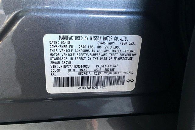 Used 2019 Infiniti Q50 3.0t LUXE RWD