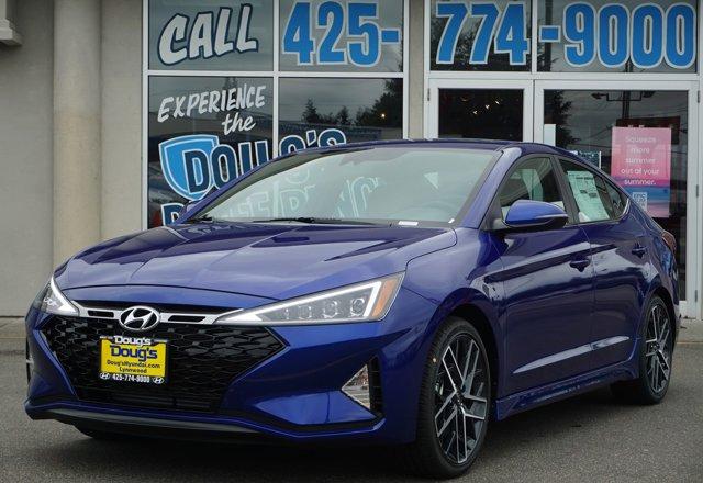 New 2020 Hyundai Elantra in Lynnwood Seattle Kirkland Everett, WA