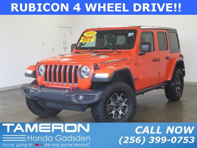 Used 2018 Jeep Wrangler Unlimited in Birmingham, AL