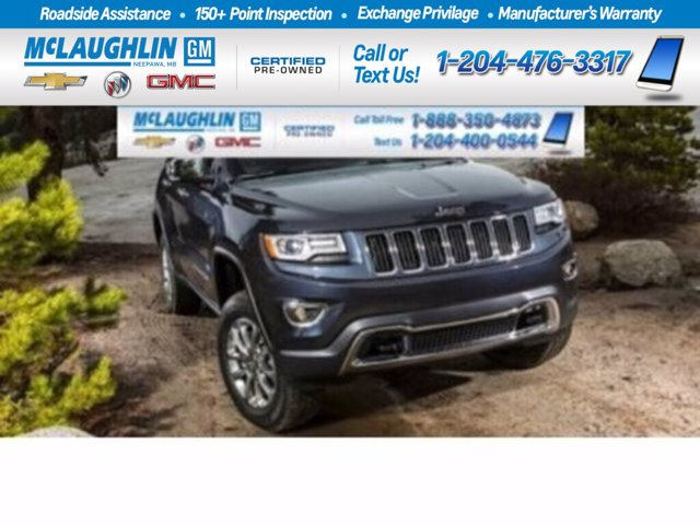 2015 Jeep Grand Cherokee Limited 4WD 4dr Limited Regular Unleaded V-6 3.6 L/220 [14]