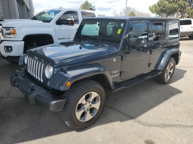 Used 2017 Jeep Wrangler Unlimited in Fort Collins, CO