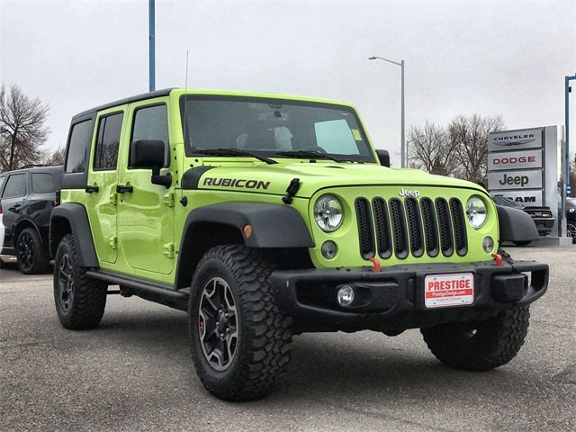 Used 2016 Jeep Wrangler Unlimited in Fort Collins, CO
