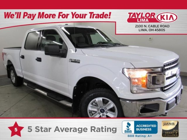 2018 Ford F-150  Four Wheel Drive Power Steering ABS 4-Wheel Disc Brakes Brake Assist Conventi