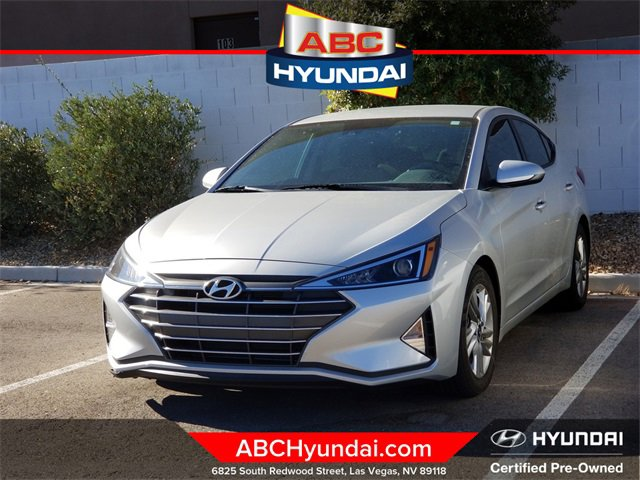 2020 Hyundai Elantra SEL SEL IVT Regular Unleaded I-4 2.0 L/122 [34]