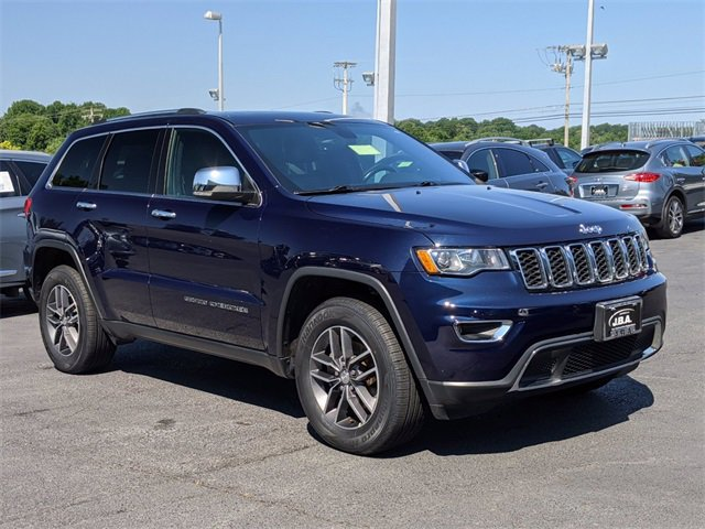2017 Jeep Grand Cherokee Limited Limited 4x4 Regular Unleaded V-6 3.6 L/220 [14]