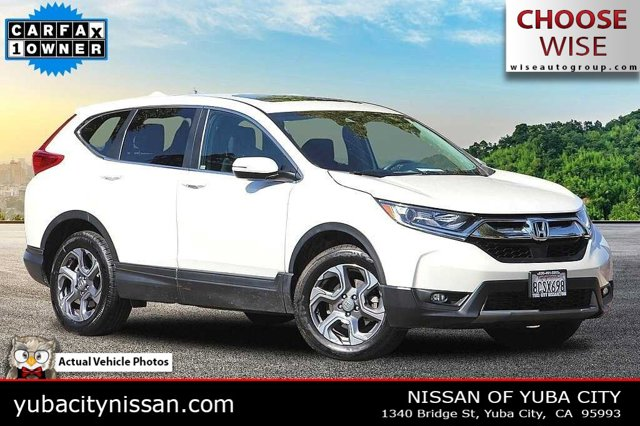 2018 Honda CR-V EX EX AWD Intercooled Turbo Regular Unleaded I-4 1.5 L/91 [0]