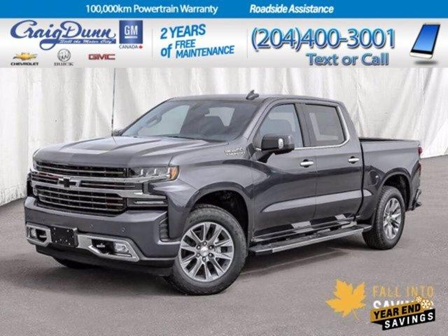 2021 Chevrolet Silverado 1500 High Country 4WD Crew Cab 147″ High Country Gas V8 6.2L/376 [0]