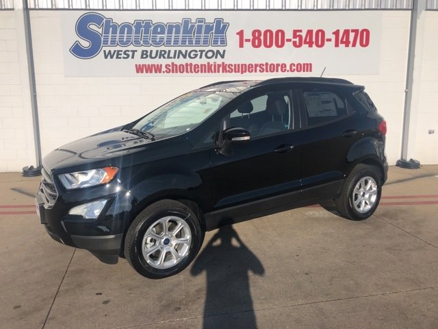 New 2019 Ford EcoSport in West Burlington, IA