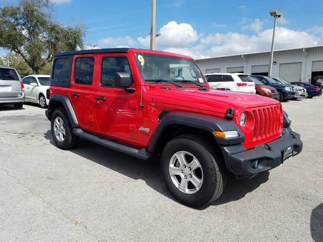 Used 2019 Jeep Wrangler Unlimited in Fort Worth, TX